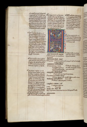 Illuminated Initial, In Glossed Books of Leviticus, Numbers, and Deuteronomy f.148v